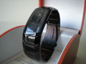 CHETE-amp-LAROCHE-Unisex-Black-Stainless-steel-Watch-NEW-IN-BOX