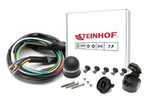 Anhängerkupplung starr+ES 7p uni Für Ford Focus II Kombi 05-08 Kpl AHK