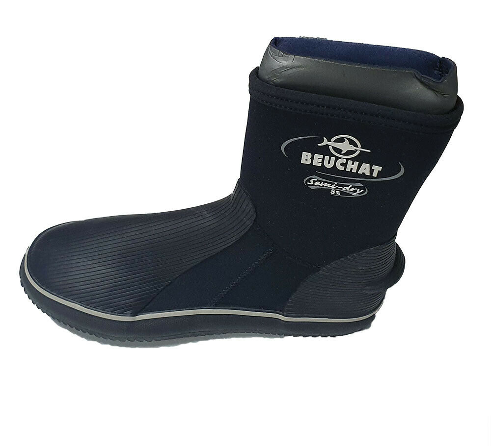 BEUCHAT Semi dry  boot 5mm for Scuba Diving Snorkeling Booties Wetsuit SIZE  outlet factory shop