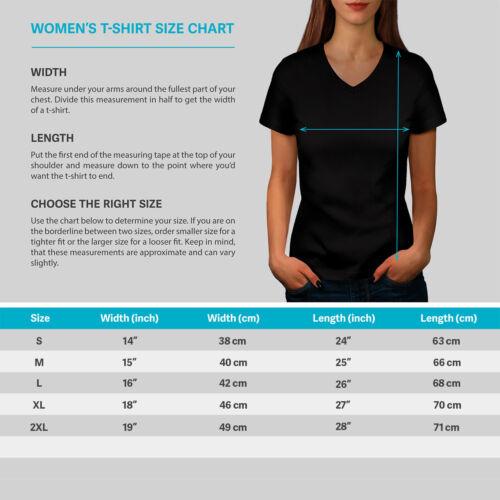 New Graphic Design Tee Wellcoda Lady Freedom Pop Womens V-Neck T-shirt