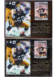 Image is loading Mike-Webster-52-Pittsburgh-Steelers-Legend-Super-Bowl- 503dffa32