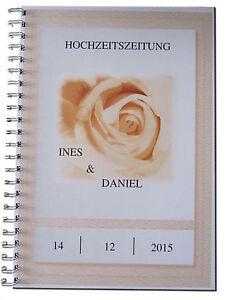 Hochzeitszeitung-rosenholzfarbig-Geschenk-Hochzeit-Brautpaar-Hochzeitsgeschenk