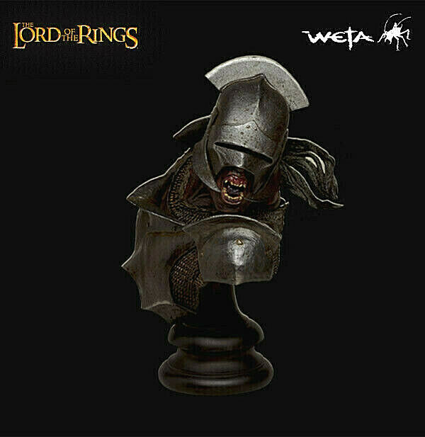 Uruk-Hai Swordsman Lord Of The Rings Busto Sideshow Weta