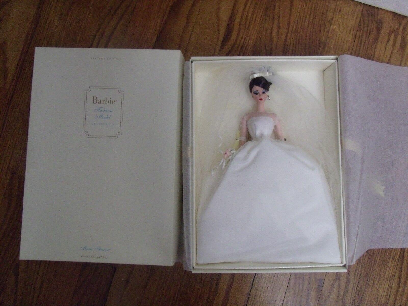 Maria Therese Hochzeit Braut Silkstone Barbie 2001 Limitierte Auflage