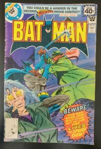 BATMAN-307-Whitman-Variant-1st-Lucious-Fox-1979-DC-Comics-LOW-GRADE-Book