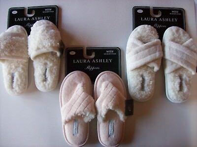 Laura Ashley Slippers Womens Plush