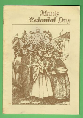 #T56. MANLY COLONIAL DAY BOOKLET