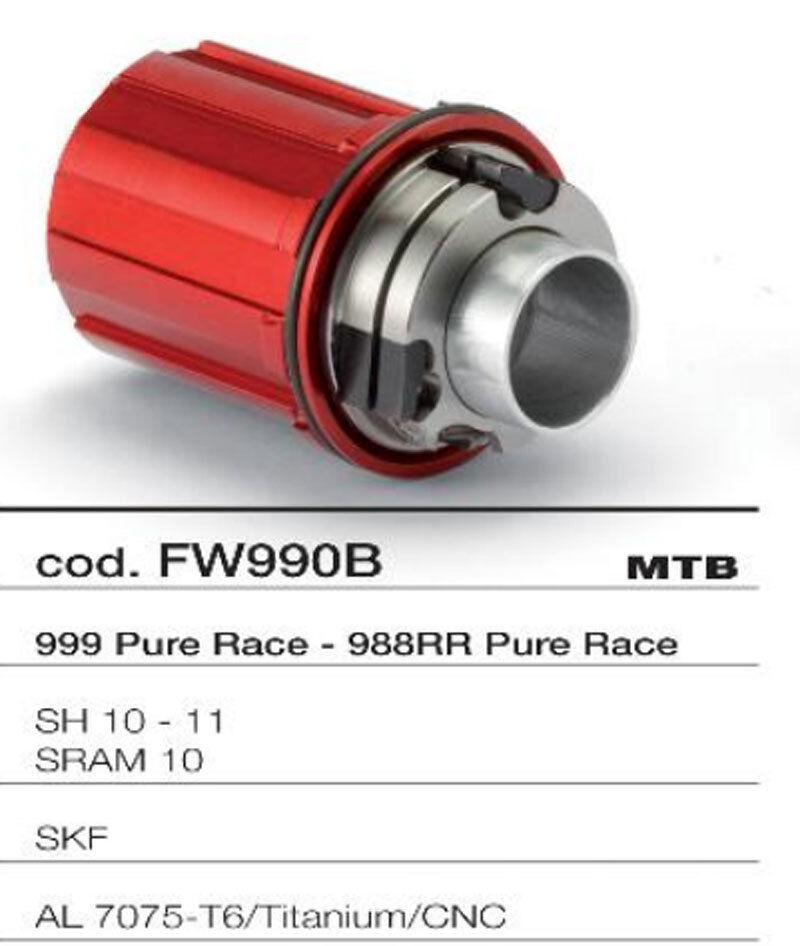 MICHE CORPETTO RUOTA LIBERA MTB 999988RR PURE RACE