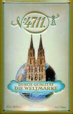 4711 Weltmarke Blechschild Schild 3D geprägt gewölbt Metal Tin Sign 20 x 30 cm