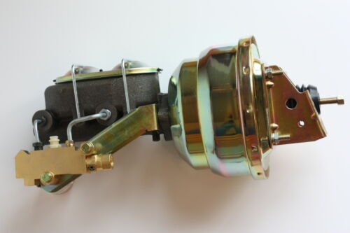 "1968 69 70 71 72 73 74 Nova Power Brake Booster 8/"" Dual w//prop Disc//Disc"
