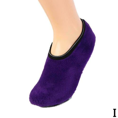 Women Slipper Socks Indoor Floor Nonslip Ankle Soft Warm Low Cut Sock Sox W R9H5