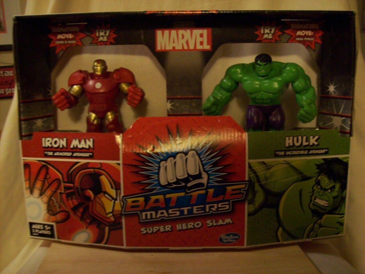 Marvel Battle Masters Super Hero Superhero Slam Iron Iron Iron Man Incredible Hulk Figures 371ad2