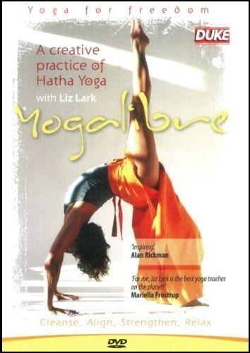 YOGALIBRE (Liz LARK) Hatha Yoga Libre Freedom CLEANSE Align RELAX Strengthen DVD