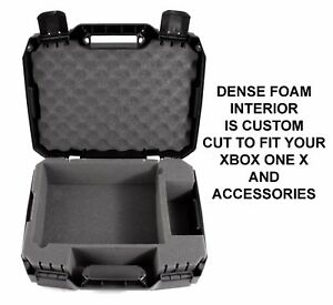 CASEMATIX-Xbox-One-X-Compact-Travel-Carry-Case-Fits-Console-Controller-amp-Games