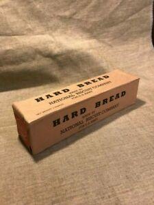 Wwi Us Army Marine Corps Hard Tack Ration Box Ebay