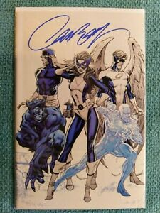 Marvel Uncanny X-Men #1 C SIGNED Exclusive J Scott Campbell w//COA