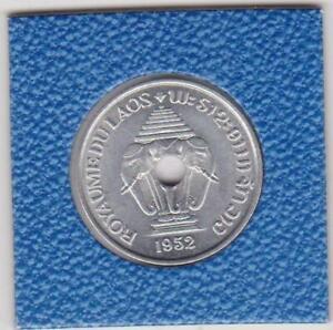 20-cents-Laos-1952-Sisavang-Vong-Elefant-elephants-Lao-prima-Erhaltung