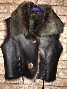Gillet Goor Uk Bnwot Sheepskin Dom £450 Size Toscana Selfriges 10 wtq8T