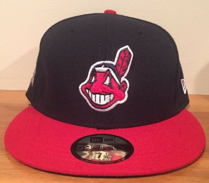 promo code 0578d 22523 ... release date cleveland indians chief wahoo new era hat 59fifty jackie  robinson banned hat era 7