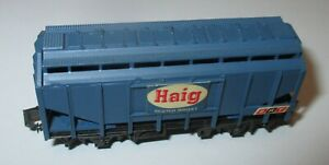 Peco-P68-Selbstentladewagen-034-Haig-Scotch-Whisky-034-Le-Br-gt-Top