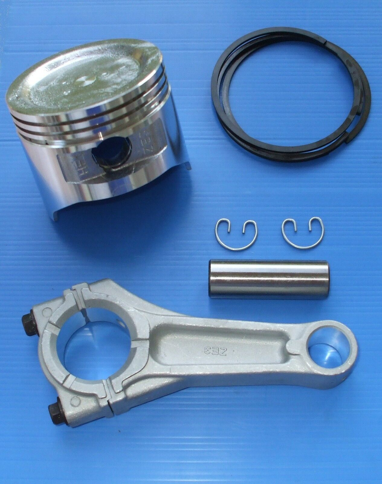 HONDA GXV340 CONROD CONNECTING ROD, PISTON AND RINGS SET