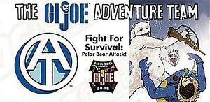 GI JOE CONVENTION MINI COMIC GIVEAWAY PROMO 2006 FIGHT FOR SURVIVAL POLAR BEAR