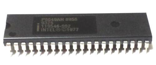 LOT OF 5 NEW INTEL IC 8 BIT P8049AH P8049 AH DIP 40  MICROCONTROLLER