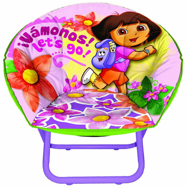Phenomenal Nickelodeon Dora The Explorer Mini Saucer Chair Gamerscity Chair Design For Home Gamerscityorg