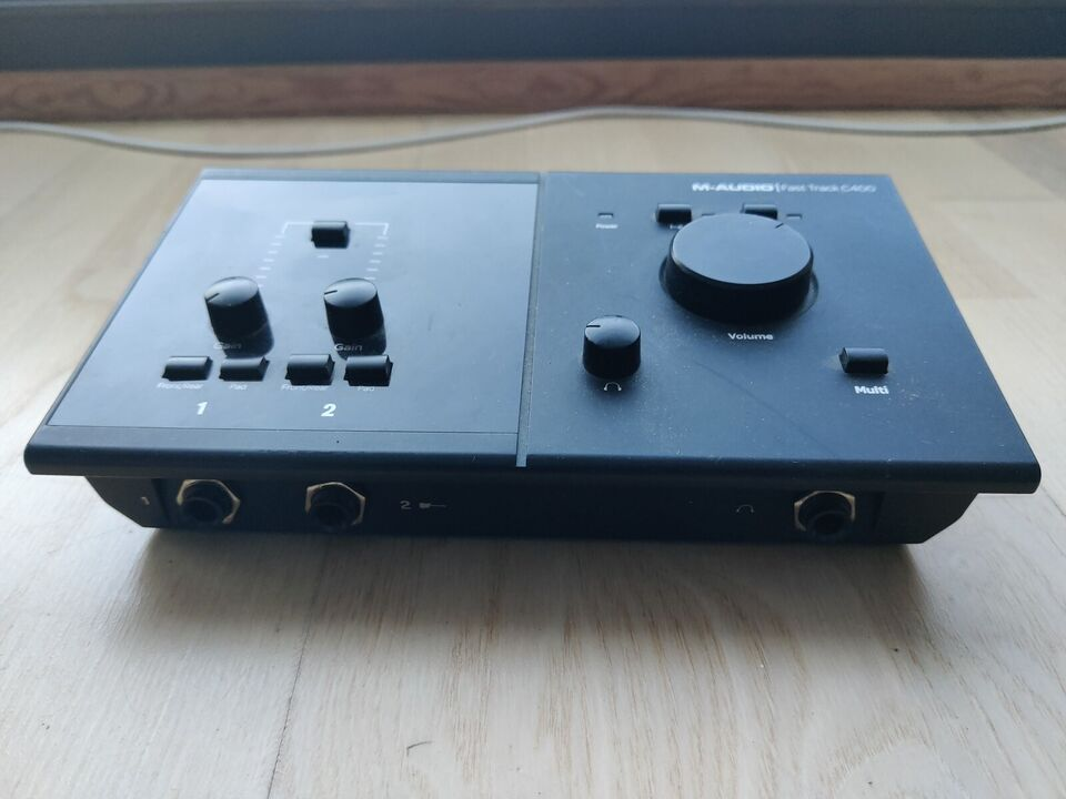 Lydkort, M-audio Fast Track C400 Pro Tools SE