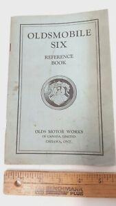 1930-OLDSMOBILE-Six-Series-F-30-Owners-Manual-Good-Condition-CDN