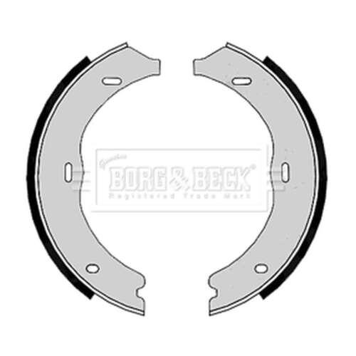 Fits Mercedes Vito W639 3.0 120 CDi Genuine Borg /& Beck Rear Brake Shoe Set