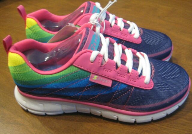 150657f13f5d S SPORT by Skechers Athletic Sneakers Shoes Unbroken Rainbow Girl s Size 2  NEW