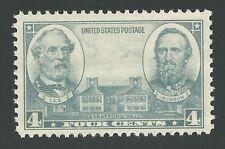 US Civil War Confederate Army General Robert E. Lee Stonewall Jackson Stamp MINT