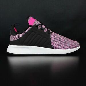 womens adidas black & white x_plr trainers | Black, white