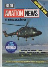 AVIATION NEWS MODEL MAGAZINE V15 N22 NEW FEATURE RADIO WATCH, ROYAL DANISH NAVY