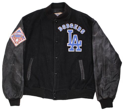 Vintage Los Angeles LA Dodgers Chalkline Letterman