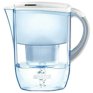 Brita Fjord Cool 2.6L Water Filter Jug, White + 1 Maxtra Filter Cartridge