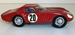 SB-modelli-in-scala-1-43-A3-Bianco-Metallo-costruite-a-mano-in-resina-kit-FERRARI-1964-GTO