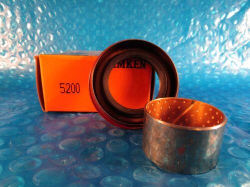 Timken Oil Seal 5200 Dual Lip w//One Spring Shaft Seal