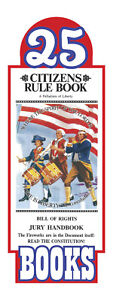 Original-Citizens-Rule-Book-Bill-of-Rights-Jury-Handbook-Pocket-Sized-25-pack