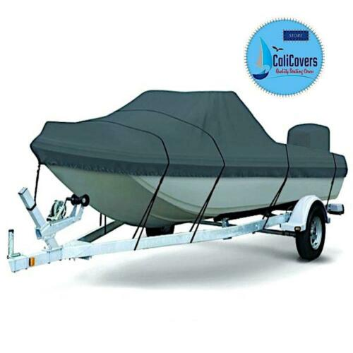 16 FT Tri Hull Boat Cover