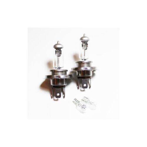 Seat Ibiza MK5 H4 501 55w Clear Xenon HID High//Low//Side Headlight Bulbs Set