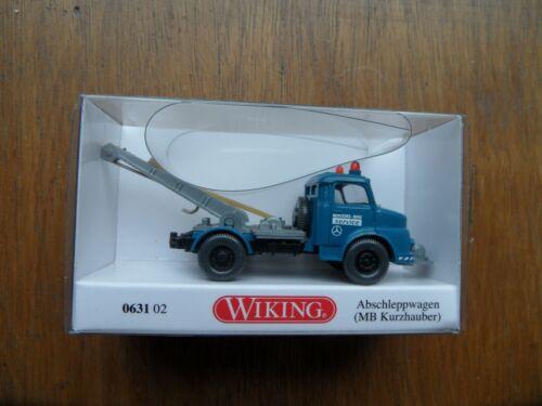 OVP Wiking 1:87-063102 Abschleppwagen MB Kurzhauber