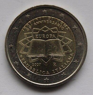 Treaty of Rome 2 Euro Italy 2007 Unc