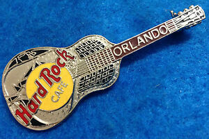 Orlando-Plata-Tri-Placa-Acustica-Guitarra-Modelo-35-Hard-Rock-Cafe-Pin