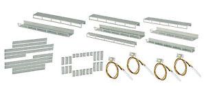 Viessmann-6045-Kit-Debutant-Eclairage-Interieur-des-Etages-8-Rails-Neuf