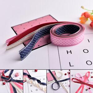 25mm Grosgrain Ribbon Cloth Tape DIY Hair Accessory Shoe Clothing Craft AU.EBAU