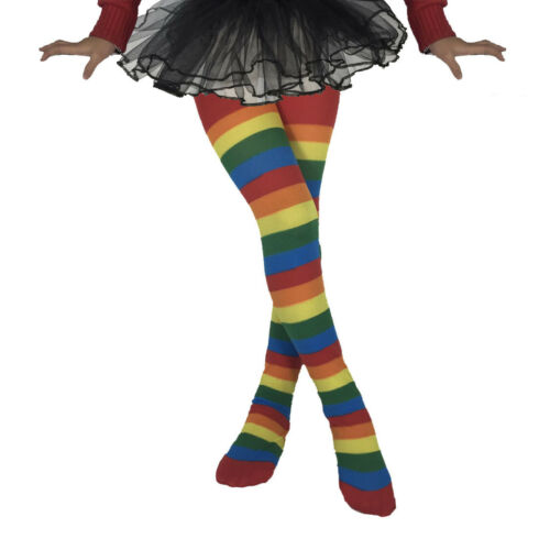 UK Children/'s Girls Halloween Striped Long Warm Tights Socks Stockings Pantyhose