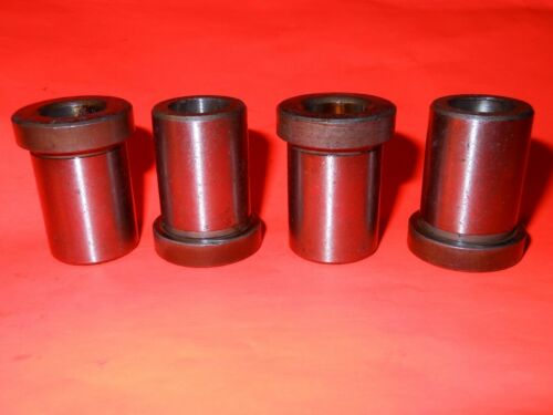 """Type H Precision Drill Jig Great Value 31//64/"""" Drill Bushing Lot of 4"""