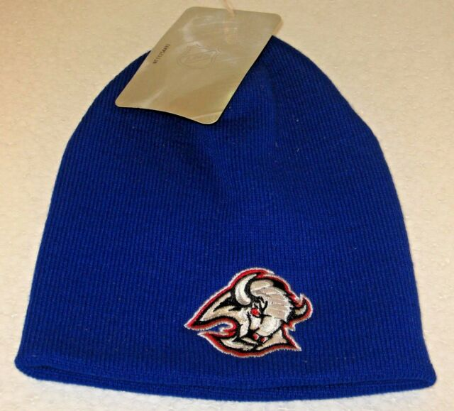 online store d71d4 48f15 NHL Buffalo Sabres Blue No Cuff One Size Fits All Knit Hat By Reebok